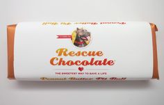 I found this on www.rescuechocolate.com A glorious combination of my love of animal rescue, pit bulls and CHOCOLATE (organic chocolate to boot!).
