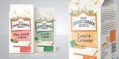 "Brand Opus has taken New Covent Garden Soup back to its root with a  redesign that focuses on communicating the ingredients behind Britain's  best-selling chilled soup brand. The redesign is part of a wide-ranging  marketing initiative which reinforce the core message ""Fresh from our  kitchen to yours""."