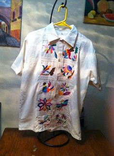 De 101 Bordadas Mejores Imágenes Camisas Embroidered Shirts EExq0Fr