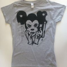 Awesome great summer 'Disney' style punk T-shirt
