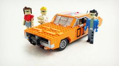 LEGO Cars from 80's TV Shows & Movies