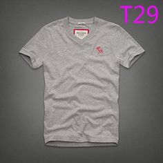 New Abercrombie & Fitch T2 V-Neck Classi (end 10/14/2017 1:57:00 AM)