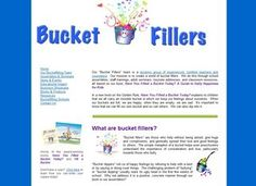 Bucket filling- love this!