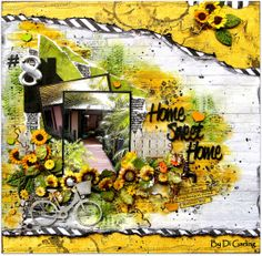 Created by Di Garling  -  June DT reveal for Scrap Around the World challenge blog.-   My blog - discreativespace.blogspot.com.au