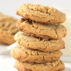 Do you love peanut butter AND butterscotch? Throw them together in a cookie and have the best peanut butter butterscotch cookies ever!