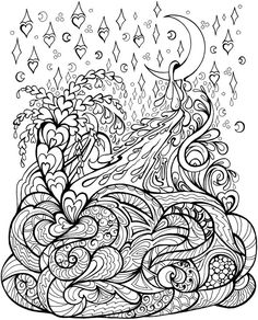 Welcome To Dover Publications Creative Haven Deluxe Edition Sweet Dreams Coloring Book