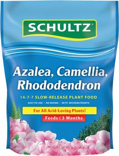 Schultz® :: Azalea, Camellia, Rhododendron Slow-Release Plant Food 14-7-7 - CLICK the image to find out more! #plantfood #Azalea #Camellia #Rhododendron