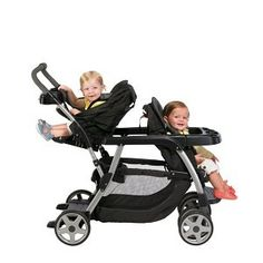 SALE! Graco Ready2Grow Classic Connect LX Stroller Price: $178.00  You Save: $41.99  •Accepts two graco infant car seats •12 riding options for 2 children from infant to youth •Face time rear seat for more interaction with baby •Front seat, bench seat and standing platform each hold child up to 50 pounds, rear seat holds up to 40 pounds
