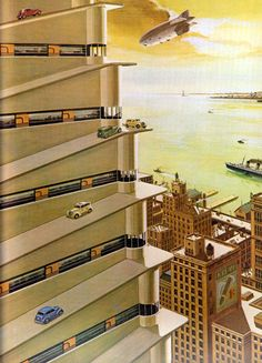 from Bruce McCall's Zany Afternoons: retro_futurism