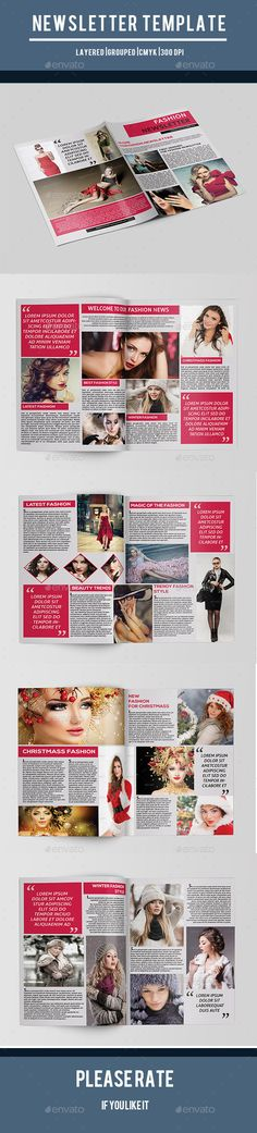 Fashion Newsletter-V01 - Newsletters Print Templates Download here : https://graphicriver.net/item/fashion-newsletterv01/9854754?s_rank=234&ref=Al-fatih