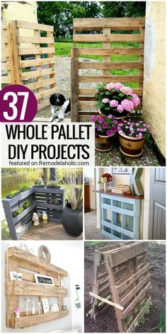 37 Whole Pallet Projects, AKA Things You Can Build Without Taking a Pallet Apart
