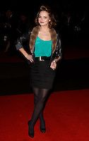 Kara Tointon in tights | KARA TOINTON.attending the European Premiere of 'Harry Brown' at the ...