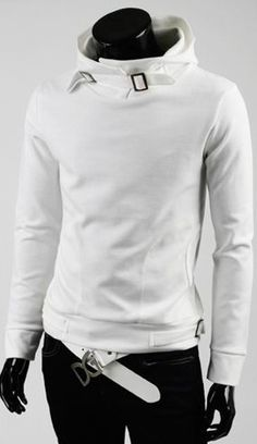 Cutter Fleece White Mens Sweater. I know its guys but I love it too :)