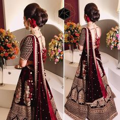 Haute spot for Indian Outfits. Indian Bridal Outfits, Indian Bridal Lehenga, Pakistani Bridal Dresses, Indian Bridal Wear, Indian Dresses, Indian Wear, Indian Attire, Indian Clothes, Wedding Lehnga
