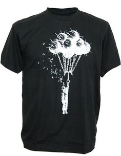 SODAtees deep sea water mine scuba diver Men's T-Shirt Ð Small Ð Black