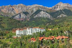 The Peaks Resort & Spa boasts 42,000 square feet, picturesque views, and over-the-top pampering.