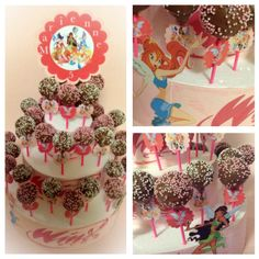 winx pops cake designed for mrienne's bday!