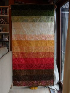 A quilt for DH 2017 (front).  Tonga Treats bundle