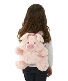 Take a look at this Pink Pig Backpack by Just Pretend Kids on #zulily today!
