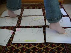 geography twister  this is a really cute and fun lesson for kids in 3rd or 4th grade. cut up a map and in groups one kid can say a place and hand or foot to put on and then take turns deciding.