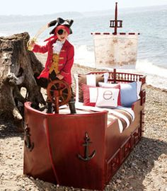 Pirate Ship Bed by Bibi's Custom Made