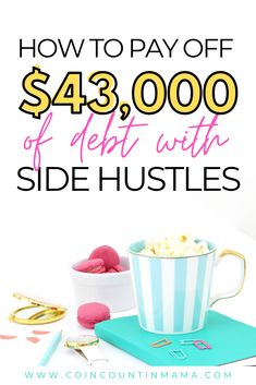 Are you sick and tired of being in debt. Meet Valencia Morton. In this article, she shares how she paid off $43,000 of student debt in 2 years strictly from using side hustles! Her advice is perfect for millennials or baby boomers who happen to have lots of student loans or credit card debt. Don't forget to pin for later! #payoffdebt #studentloandebt #sidehustles #debtpayoff Make More Money, Extra Money, Extra Cash, Debt Payoff, Debt Repayment, Debt Consolidation, No Spend Challenge, Surveys For Money, Debt Free Living