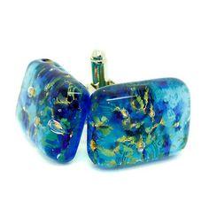 Murano Cufflinks ▷ 5.5£ | Dealsan Sterling Silver Cufflinks, Murano Glass, Coin Purse, Wallet, Blue, Accessories, Purses, Diy Wallet, Coin Purses