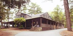 Camp Kiwanee - Hanson, MA... This place is perfect wedding venue for the couple that doesn't mind incorporating some cabin camping into their wedding weekend!  There are tons of rustic cabins right on a huge lake, and an amazing space for the reception and ceremony...
