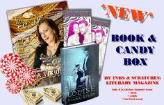 #BookAndCandyBox by #InksAndScratches #bookbox #books #reading #reviews #authorinterview www.diana-nixon,com