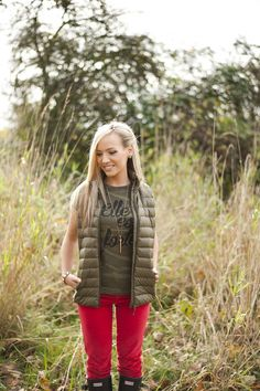 The Original: Elle est forte She is strong by SheIsClothing She Is Clothed, Camo, Vest, The Originals, Casual, Jackets, Clothes, Strong, Gift Ideas