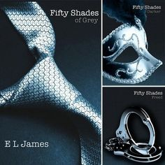 50 Shades of Grey Book Series, just love it!!!