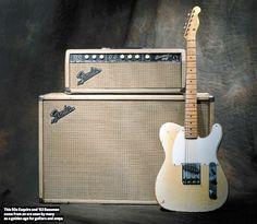 A 50s era Esquire and a 1963 Bassman amp.