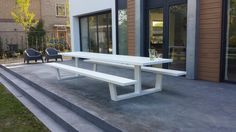 Next project : Aluminium picknicktafel