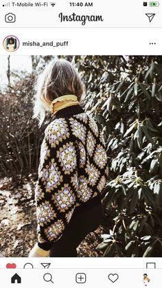 Crochet Granny, Winter Hats, Turtle Neck, Sweaters, Fashion, Moda, Fashion Styles, Crochet Pattern, Sweater