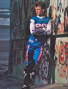 Pure badassery Beast style care of in 1989 Motocross Kit, Motorcross Bike, Motorcycle, Dirt Bike Racing, Beast From The East, Vintage Motocross, Dirt Bikes, Damon, Honda