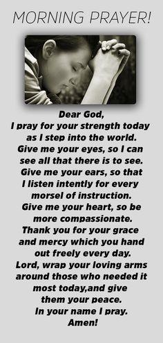 Powerful And Unfailing Morning Prayer - Catholic Herald Jesus Prayer Scriptures, Bible Prayers, Faith Prayer, God Prayer, Prayer Quotes, Bible Verses Quotes, Faith Quotes, Morning Prayer Catholic, Good Morning Prayer