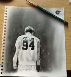 This Sehun fan art is amazing