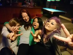 Friends with girlpower