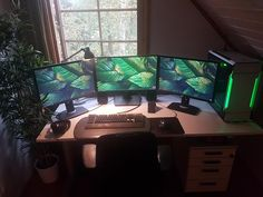 Currently running a green theme for my work/battlestation