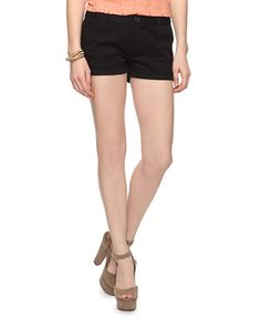 Essential woven shorts