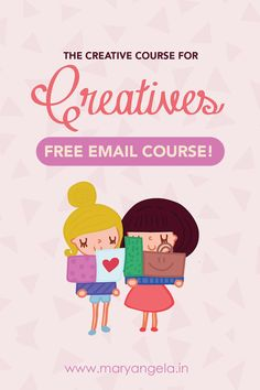 This 7 day FREE email course will teach you how to become creative and a successful Creative Entrepreneur - right this way!