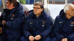 FC Barcelona | Tata Martino en el banquillo con sus asistentes | Real Sociedad 1-1 FC Barcelona. [12.02.14] FOTO: MIGUEL RUIZ - FCB
