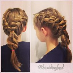 "Heli sanoo Instagramissa: ""I love love love to braid @emiliavictoriia 's hair  Here's a double #frenchfourstrandbraid  #braid #braids #braiding #braidinghair #braidideas #instabraids #letti #letit #lettikampaus #letitys #hairdo #hairdos #hairstyles #flette #plaitedhair #suomiletit #braidsforgirls #featuremeisijatytot #featuremejehat #hotbraidsmara #braidsforlittlegirls #neljäosainenranskalainenletti #tbp1kcontest"""