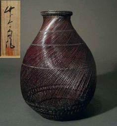 by Japanese National Living Treasure, Maeda Chikubosai II