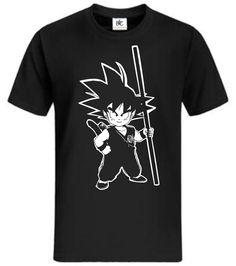 Goku T-Shirt Dragonball Z Fun Shirt Kult mycultshirt Son Goku Super Saiyajin
