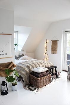 Kirsten'shome is a perfect mix of boho and Danish style, inspired by her travels all around the world.