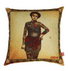 Lovely Lady Cushion Cover - Matt Blatt