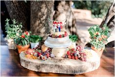 Our Wedding cheese cake, Red Ivory Lodge
