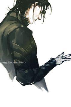 """Tom Hiddleston """"Loki"""" Fan art From http://wantstobelieve.tumblr.com"""