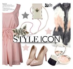 """""""She5"""" by deeyanago ❤ liked on Polyvore featuring moda, Rebecca Taylor, By Terry, GetTheLook y Sheinside"""